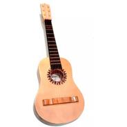 Guitarra Criolla De Madera Juguete Niños 50cm 6 Cuerdas