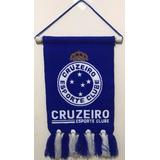 Flamula Estandarte Cruzeiro Oficial 40x20 Kalciomania
