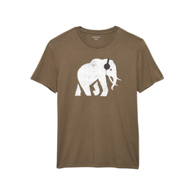 Remera Banana Republic | Graphic Tee Elephant Headphones Usa