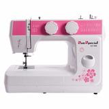 Maquina De Costura Domestica Sun Special Ss-988 Rosa/220v