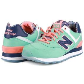 zapatillas new balance mujer verde agua