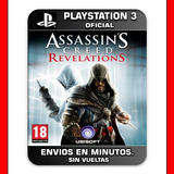 Assassins Creed Revelations Ps3 Digital Nº1 En Ventas Arg
