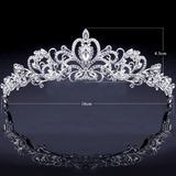 Coroa Tiara /noiva/ Debutantes Casamento + Colar + Brincos