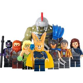 Set Amora Loki Jane Hulk Thor Ragnarok Compatible Con Lego