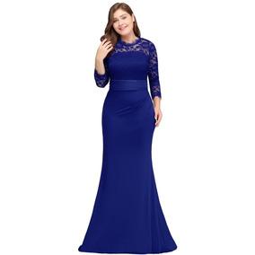 Vestido Largo Elegante Para Fiesta De Noche, Corte Sirena.