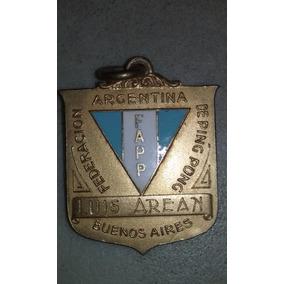 Medalla Federacion Argentina De Ping Pong Bs As 1934
