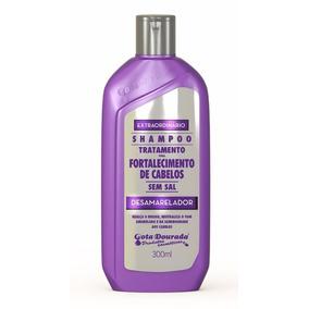 Gota Dourada Kit Desamarelador Shampoo E Condicionador 300ml