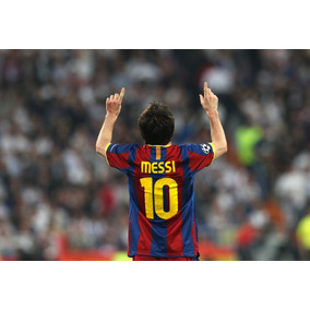 Posters Futbol Messi Cristiano Ronaldo Barcelona Real Madrid
