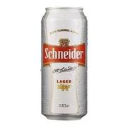 Lata Schneider Lager 473ml Cerveza Bebidas 01almacen