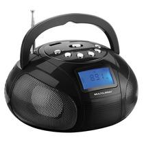 Rádio Boombox Sp145, Reproduz Fm, Mp3 E Usb - Multilaser