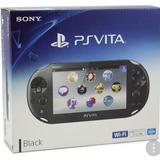 Psp Vita Negro Consola Playstation Vita