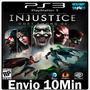 Injustice Gods Among Us Ultimate Edition Ps3 Psn Ptbr Envio