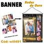 Banner Personalizado Bodas De Ouro 50 Anos - 6 Fotos Will491