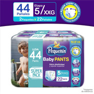 Pañal Pequeñin Baby Pants Et5 X(2x22)