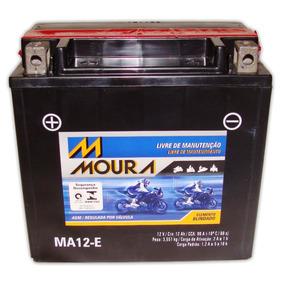 Bateria Moura Xvs Midnight Star 950 Selada Ytx14-bs Ma12-e