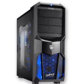 Gabinete Gamer Noga Net Extrem Ng-cp626 Con Led + 4 Cooler