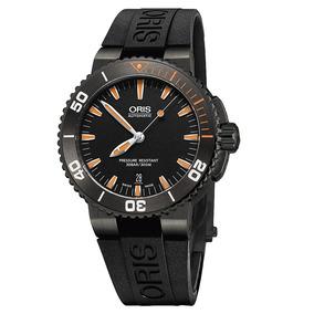 Reloj Oris Aquis Date Suizo Automático Or73376534259cn Cauch