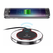 Carregador Sem Fio Wireless Qi Fast Charger Samsung iPhone