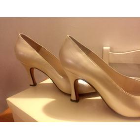 14450b09 Tacos Plataformas Altos Color Blanco Para Bodas - Zapatos de Mujer ...