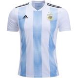 Jersey Argentina Home Replica Playera Camisa Original adidas