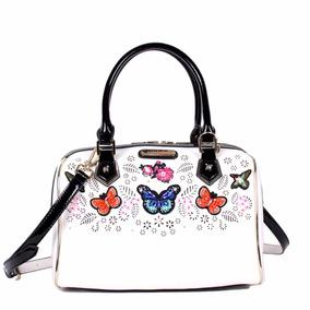 Bolsa Para Dama Nicole Lee Blanco Sty Btf11853 Bord Mariposa