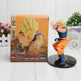 Goku Super Sayayin Dragon Ball Z 17 Cms