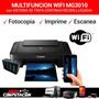 Multifuncion Canon Wifi 3010 Sistema Continuo Nuevas