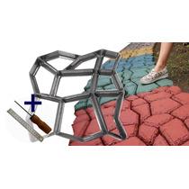 Forma Para Piso Jardim Para Concreto Easy-piso -