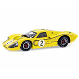 Ford Gt Mk Iv 1967 #2 Shelby Collectibles 1:18 Amarelo Sc424