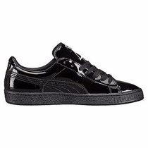 zapatillas puma basket charol