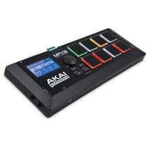 Mpx8 Akai Sample Player Portátil Com Pads Midi Usb Mpx 8 Sd