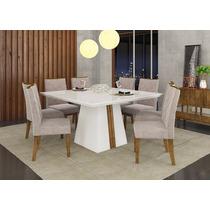 Conjunto De Mesa Com 8 Cadeiras | Dj Móveis