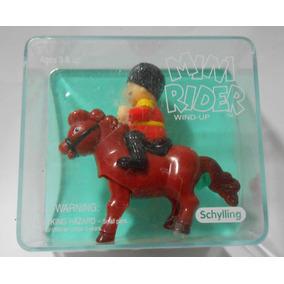 Miiatura Cavalo Schylling Brinquedo De Corda