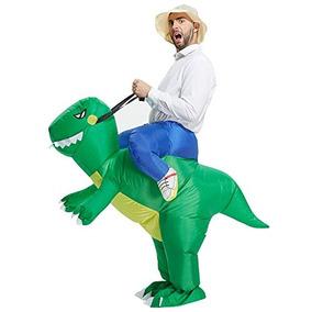 Dinosaurio Toloco Inflable Adulto T-rex Traje De Halloween