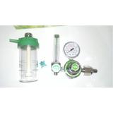 Manometro Con Flujometro Y Humificador De Oxigeno