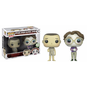 Funko Pop Upside Down Eleven / Barb Exclusive 2017 Convent