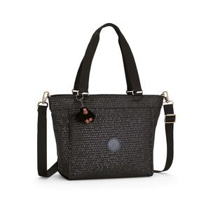 Kipling Bolso De Mano New Shopper S Black Scale Emb