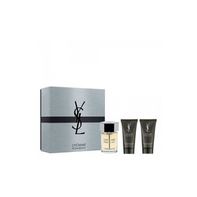 Perfume Yves Sl Homme Cofre Edt 100ml+gel Ducha+after Shave