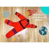 Disfraz- Traje De Astronauta Nasa Espacial - Niños Y Niñas