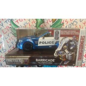 Transformers Patrulla Barricade 1/24 Metal Env Exp Lyly Toys