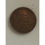Moneda De Un Centavo De Dolar De Eeuu Del Año 1945