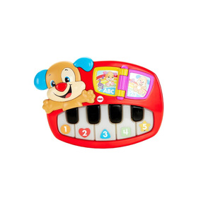 Fisher Price - Perrito Piano Bebé Aprende Conmigo Rojo
