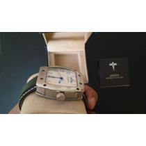 Reloj Argento Para Caballero En Acero Extensible En Piel Vbf