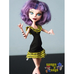 Boneca Monster High Miado De Arrepiar Mattel Tenho Barbie