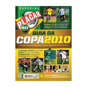 Revista Placar Digitalizada Guia Da Copa Do Mundo 2010