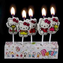 Paquete Hello Kitty Vela Cumpleaños Envio Gratis