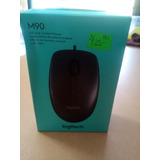 Mouse Logitech Para Pc O Laptop Usb / Nuevo
