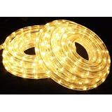 Manguera Luminosa Luz Cálida Con Efectos -10 Metros-
