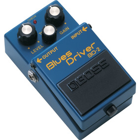 Pedal Guitarra Boss Blues Drive Bd-2 Frete Gratuito Bd 2 Nf