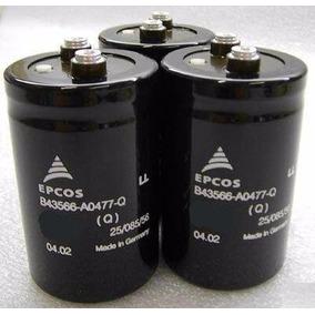 Capacitor Blindado Tornillo 22000uf X 75v D 65mm L120mm